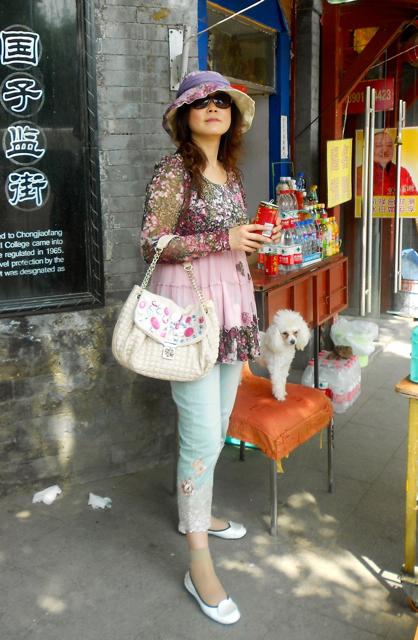 """Ca c'est la majorité de la """"mode en Chine"""""""