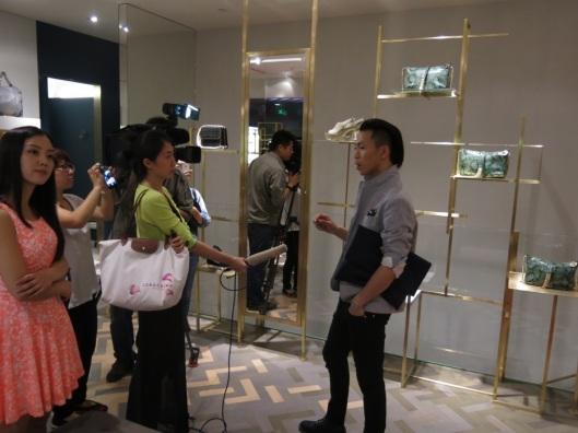 Ma bête noire, la bloggeur Han Huo Huo, avec son million de fans sur Weibo et son style ultra prétentieux.