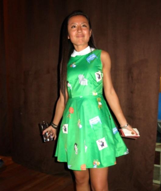 J'ai beaucoup aimé le côté faussement naïf de cette petite robe Chictopia.
