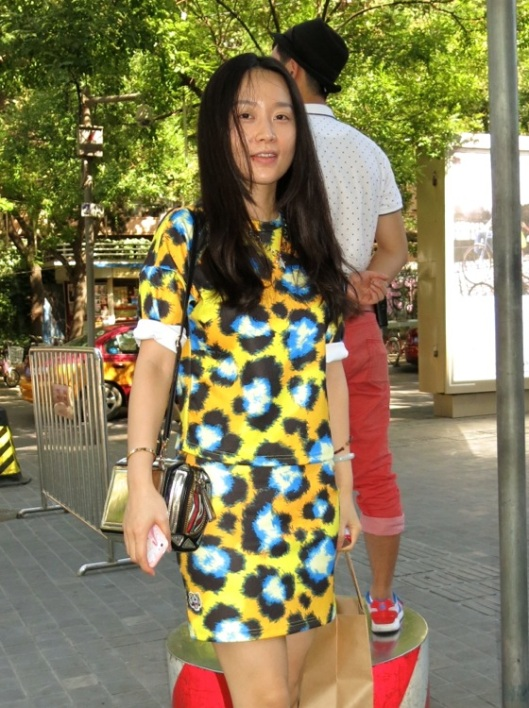 Bis - I know, but the Kenzo print is too lovely to pass.