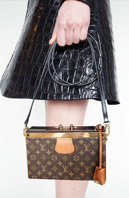 The new Louis Vuitton by Ghesquiere shot by Juergen Teller.