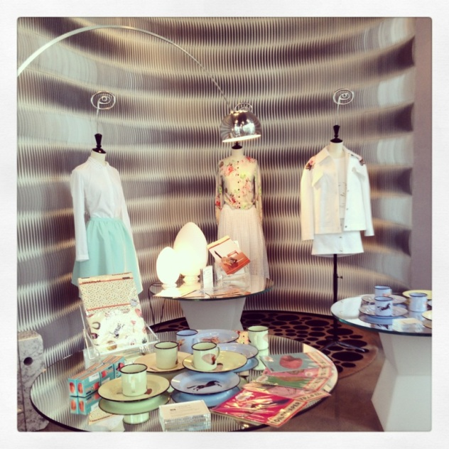 High Fashion and tin mugs at 10 Corso Como Shanghai.
