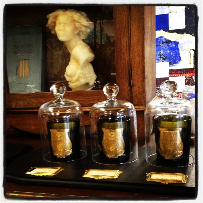 Luxury candles Trudon at Ed1tus.