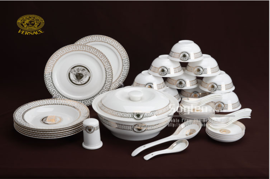 The Versace congee set, all complete for €100!