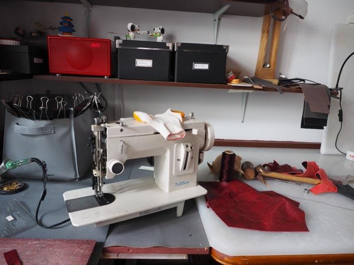 Lieber's atelier in Beijing