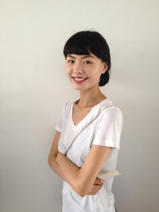 Lieber Jiang in her atelier
