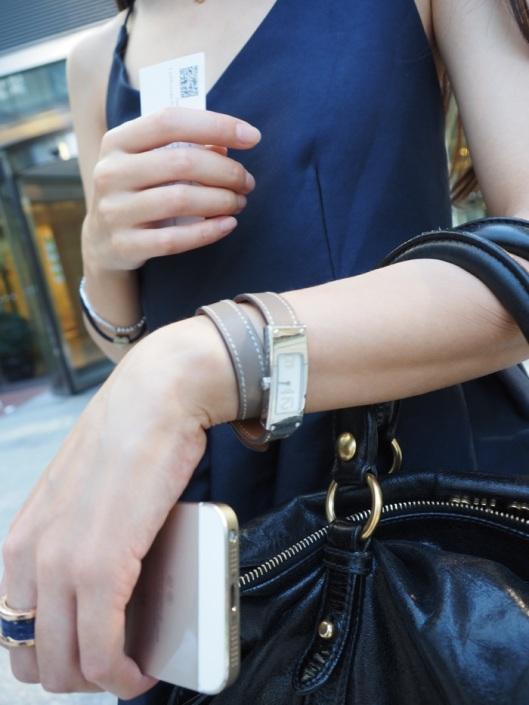 The discreet Hermès watch