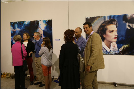 The opening ceremony at Inter Gallery